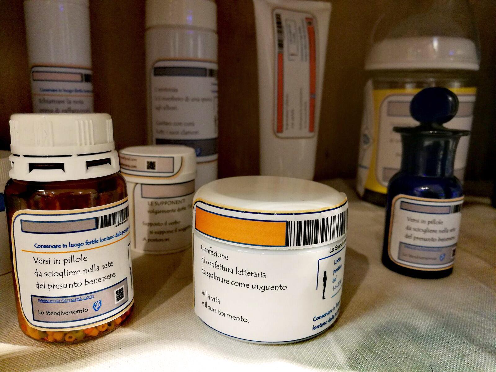 Medicinali di cure esistenziali, da ''60allora'', Molinella (BO)