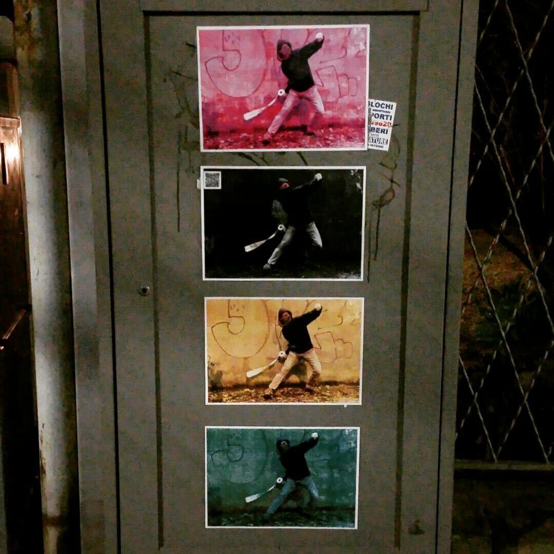 Paper Banksy via Corticella