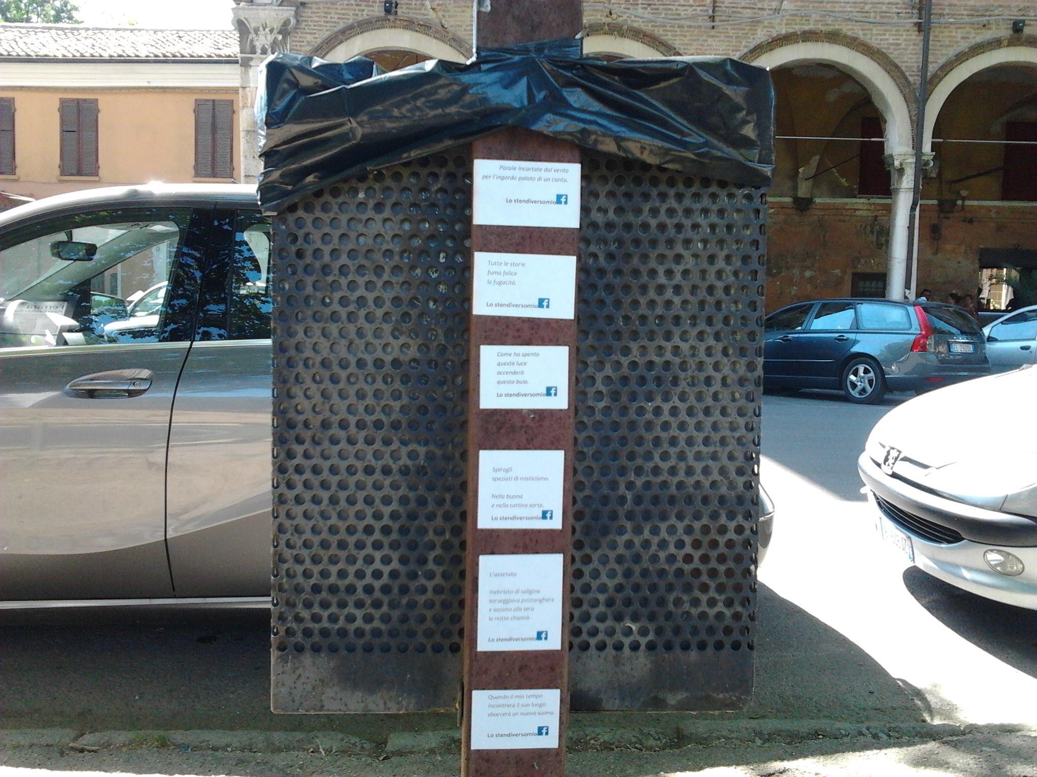 Ferrara Piazza Ariostea