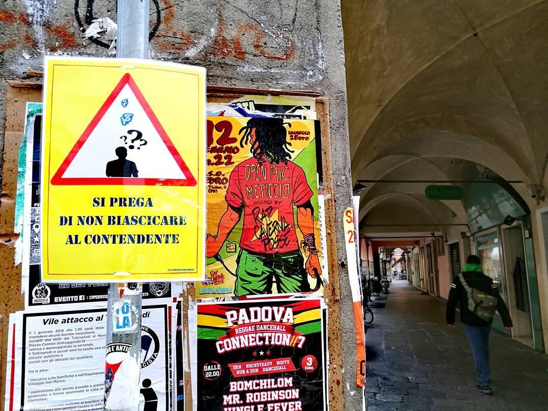 Dialettiche complesse in cartelli erranti patavini