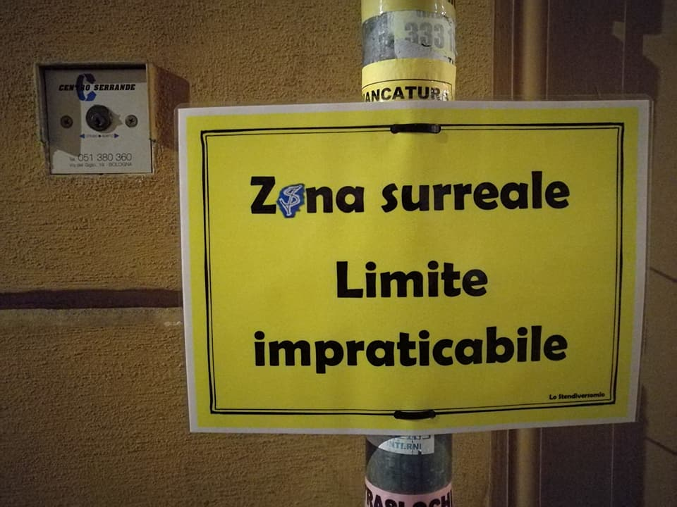 Zona surreale via Goito