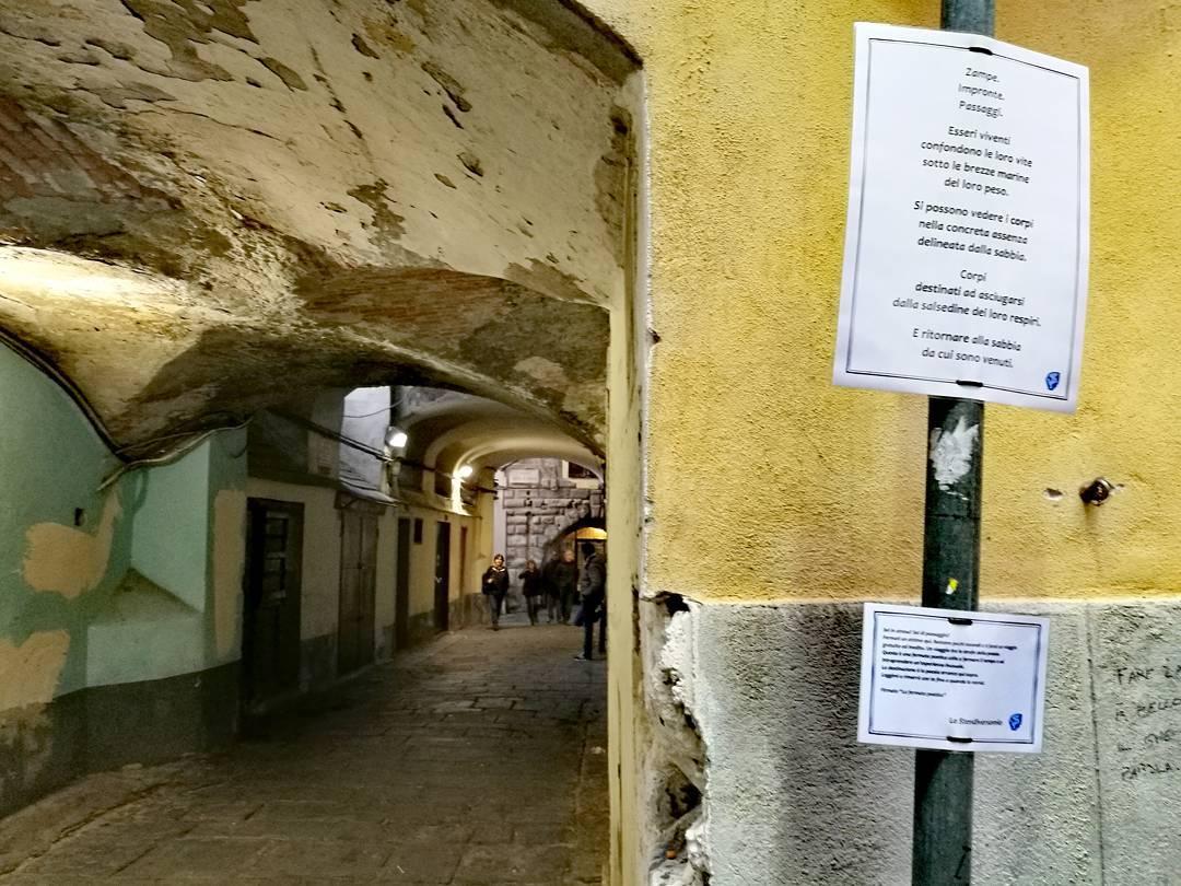 Via del Campo e la poesia errante