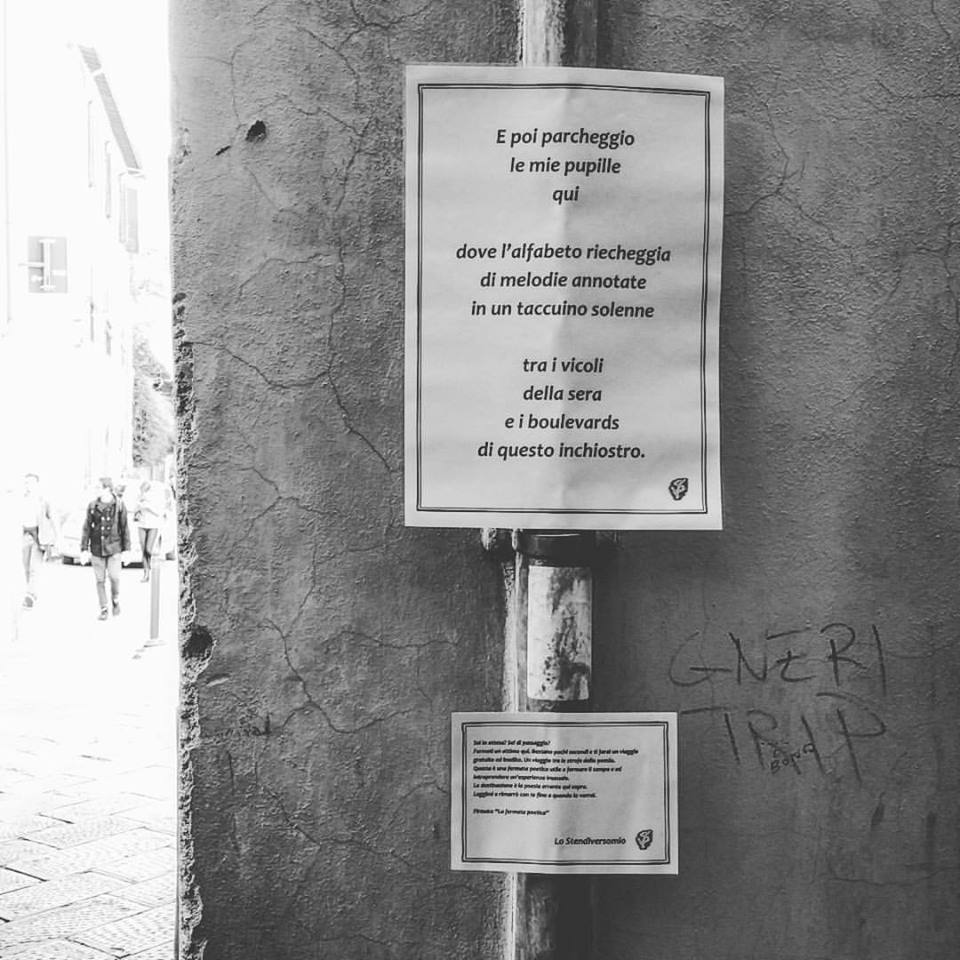 E poi parcheggio Lucca