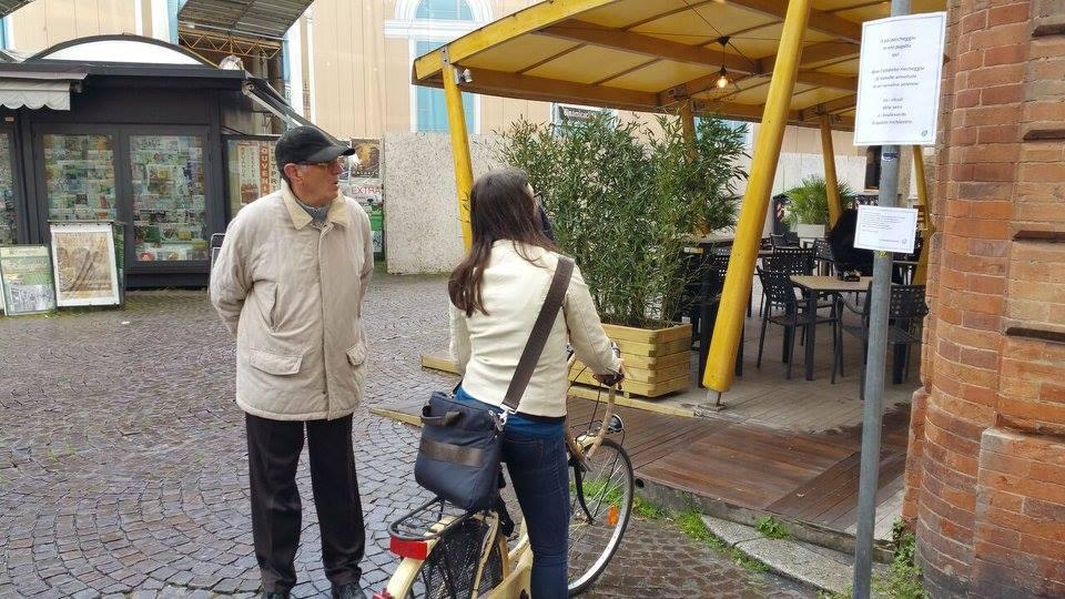 E poi parcheggio lettori Ravenna