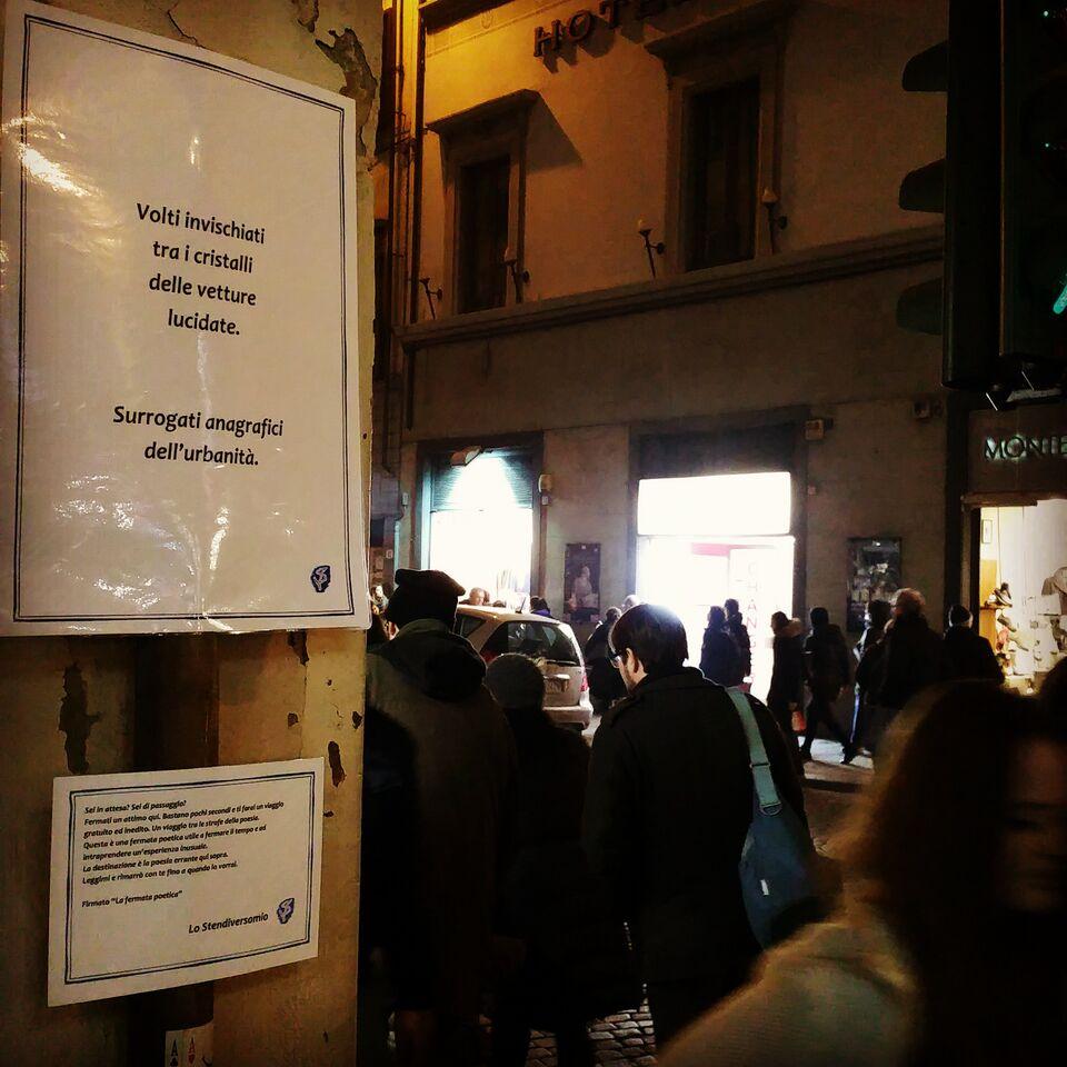 Volti invischiati Firenze