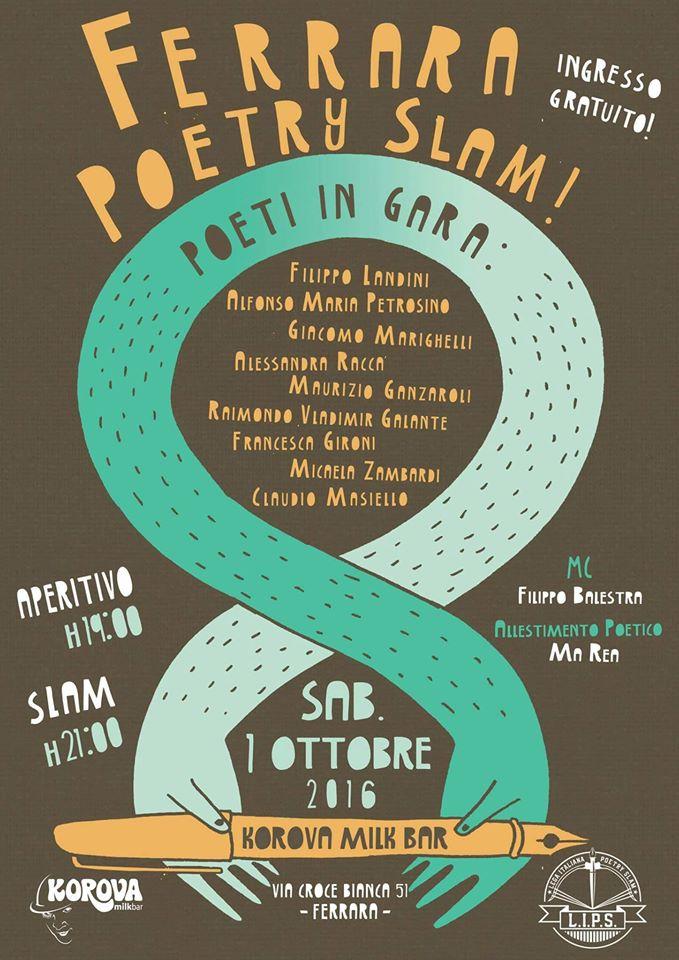 ferrara poetry slam
