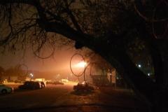La magia della notte e degli hula hoop