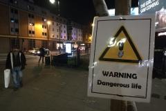 Warning night