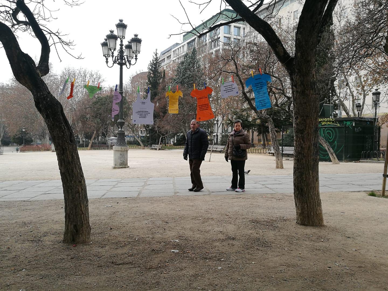 Bucati poetici e passanti madrileni