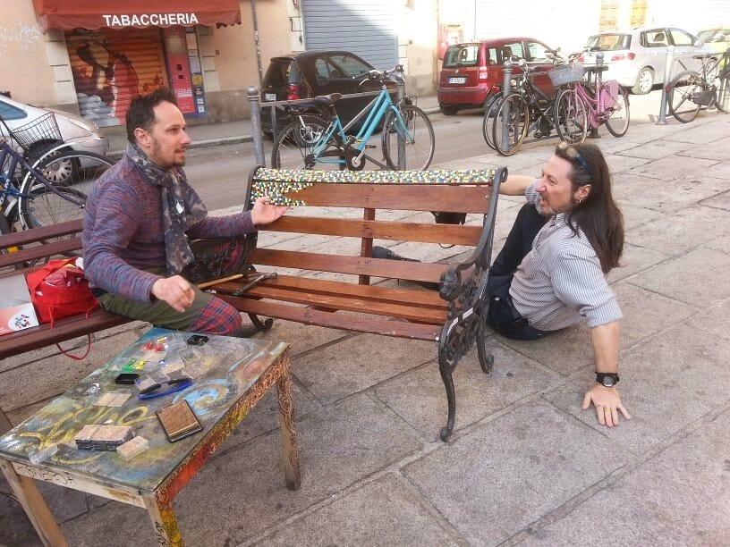 I compagni di merende di piazzetta Morandi