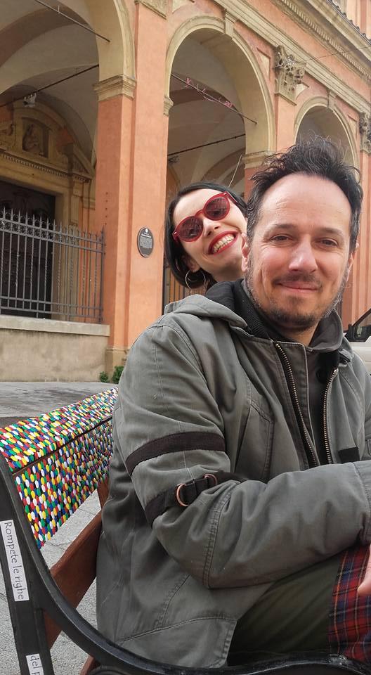 Io e Franca primo giorno 10 aprile