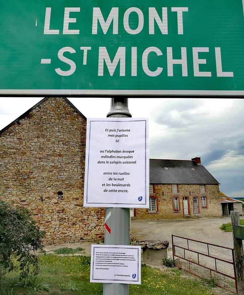 La fermata poetica di Mont Saint Michel
