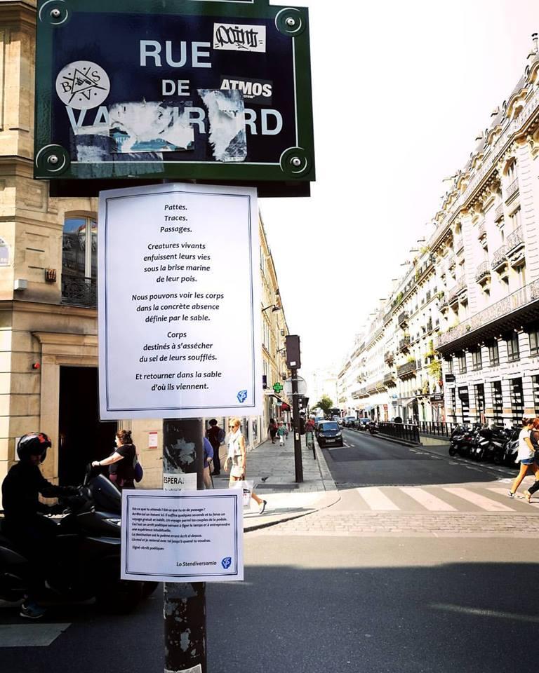 Rue de Vaugirard.