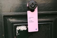 Segna porte rosa