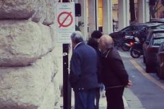 Nonnetti destabilizzati in via Nizza