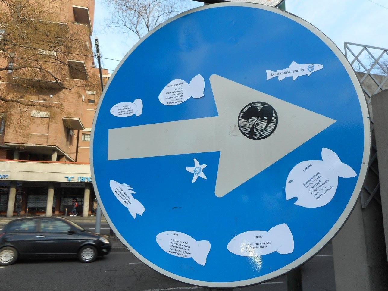 Acquario poetico o obbligo stradale