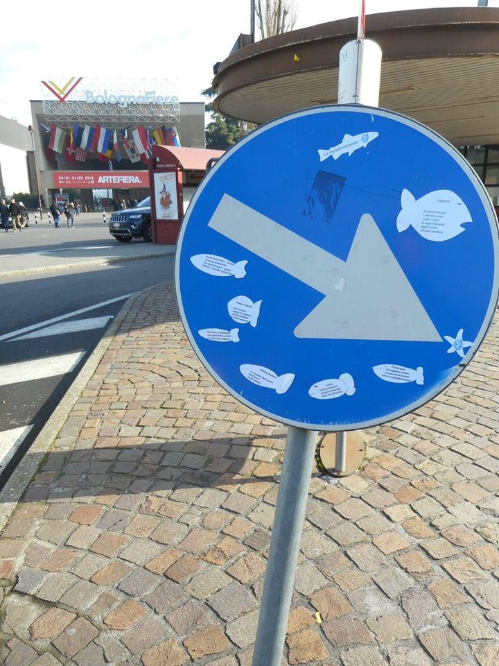 I pesci di Arte Fiera