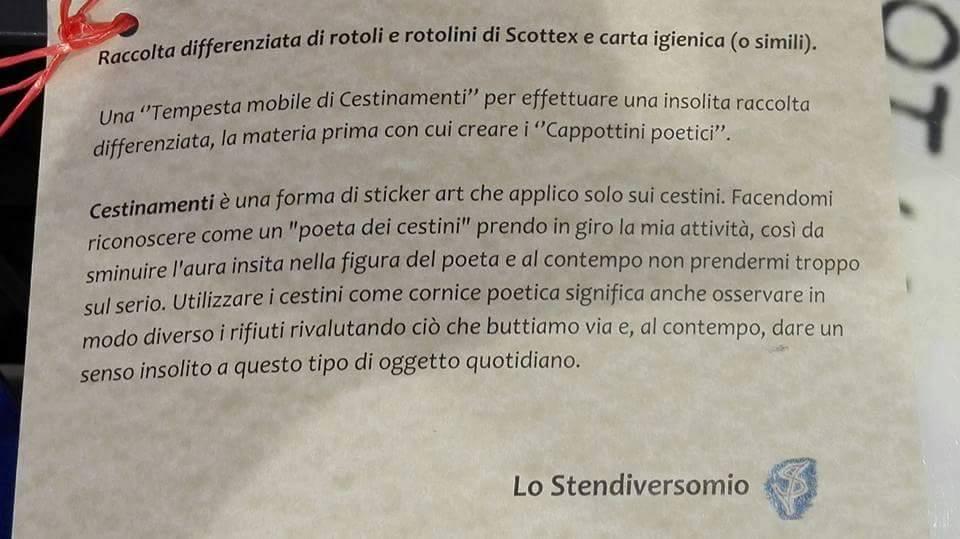 Raccolta differenziata di Cestinamenti