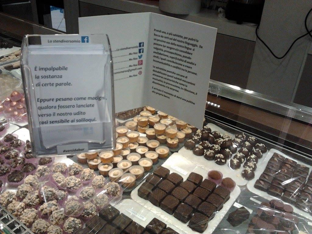 Chocolat e i Versi da bar