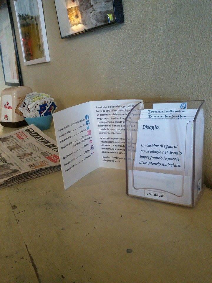Parma e le salviette poetiche