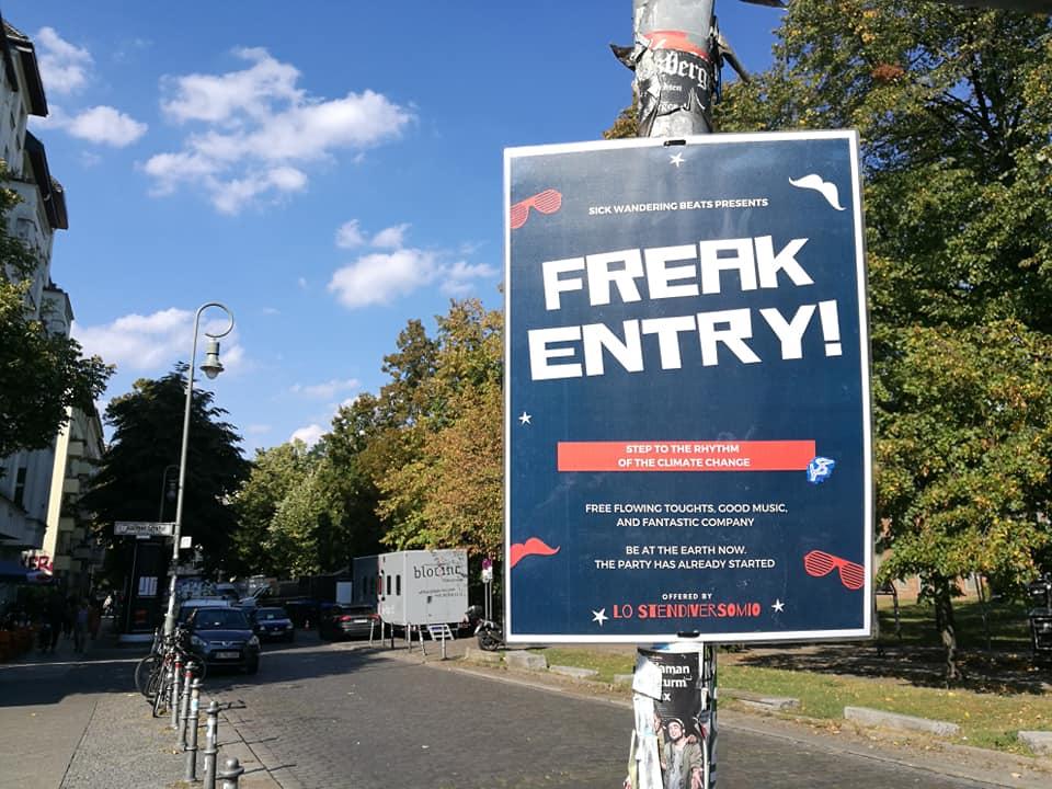 Freak entry!
