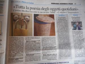 Tutta la poesia degli oggetti quotidiani di Giuseppe Malaspina 13 agosto